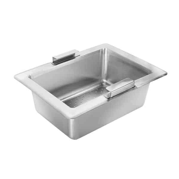 Krowne Metal 30-152 Perforated Drain Basket for Bar Sink