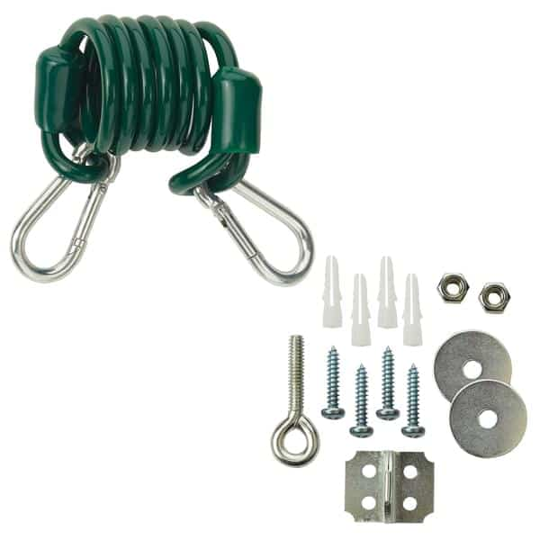 Krowne Metal R36 Restraining cable and mounting hardware