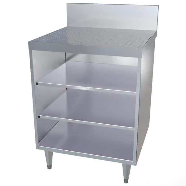 LaCrosse Cooler CL12GR-DB Classic 24 Underbar Glass Rack Storage Unit
