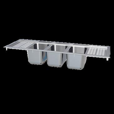 LaCrosse Cooler Cooler DI53CD Drop-In Sink