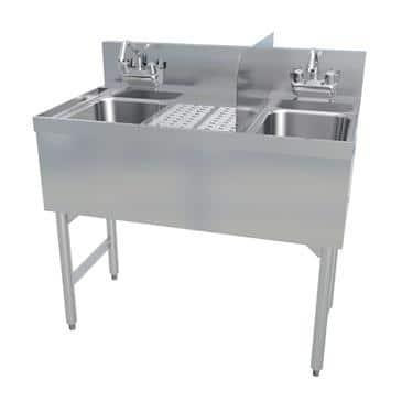 LaCrosse Cooler Cooler SK3-HS21L Sinkronization 21 Hand Sink Dump Sink Combo