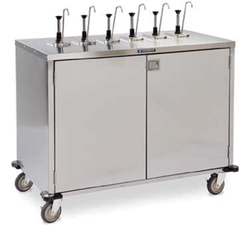"Lakeside Manufacturing Manufacturing 70211 EZ SERVE"" Condiment Cart"