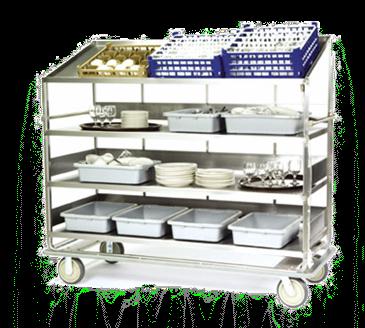 Lakeside Manufacturing Manufacturing B592 Soiled Dish Breakdown Cart