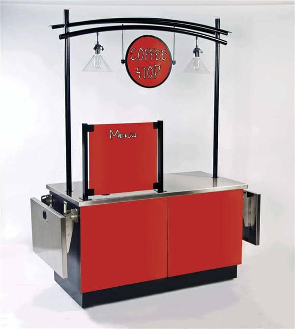 Lakeside Manufacturing Manufacturing 6120 Coffee Kiosk