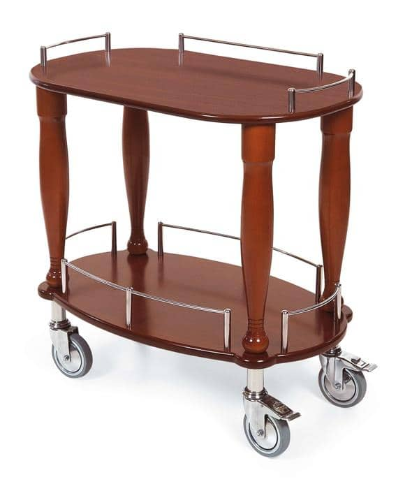 Lakeside Manufacturing Manufacturing 70010 Serving Cart-Bordeaux