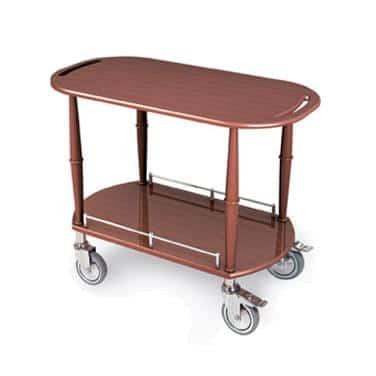 Lakeside Manufacturing Manufacturing 70453 Gueridon Spice Cart