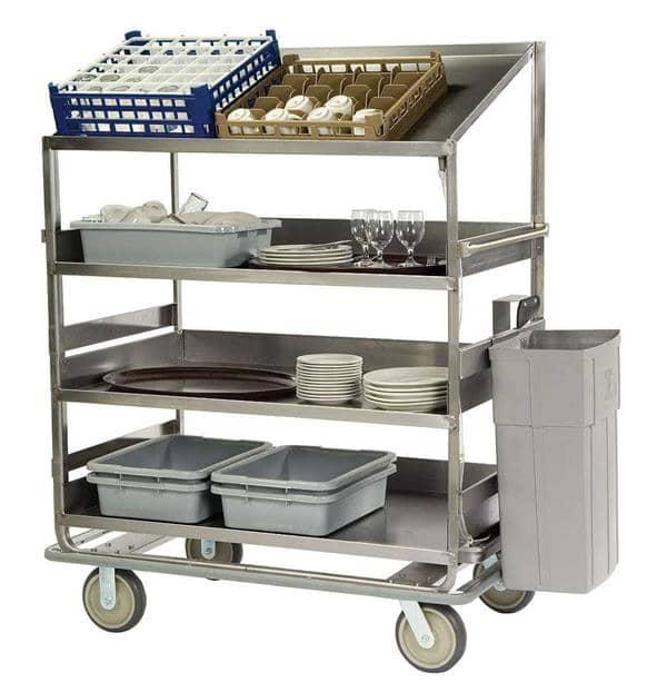 Lakeside Manufacturing B591 Soiled Dish Breakdown Cart