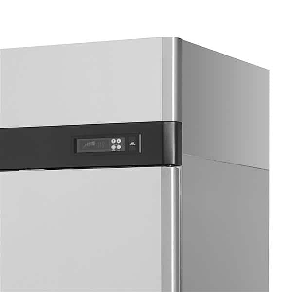 Turbo Air M3R47-2-N 51.75'' 42.3 cu. ft. Top Mounted 2 Section Solid Door Reach-In Refrigerator