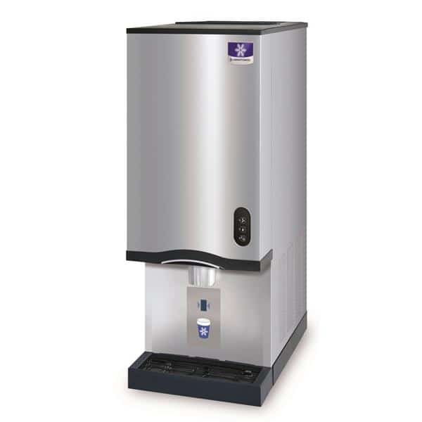 Manitowoc Ice Manitowoc CNF-0202A Air-Cooled 1/3 HP Nugget 315 lb/day 20 lb Bin Ice Maker & Water Dispenser
