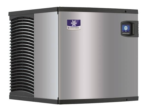 """Manitowoc IDT0420W 22"""" Full-Dice Ice Maker, Cube-Style - 400-500 lbs/24 Hr Ice Production, Water-Cooled, 115 Volts"""