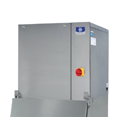 """Manitowoc IYT0900W-SPACE MAKER    30""""  Half-Dice Ice Maker, Cube-Style - 700-900 lb/24 Hr Ice Production,  Water-Cooled, 208-230 Volts"""