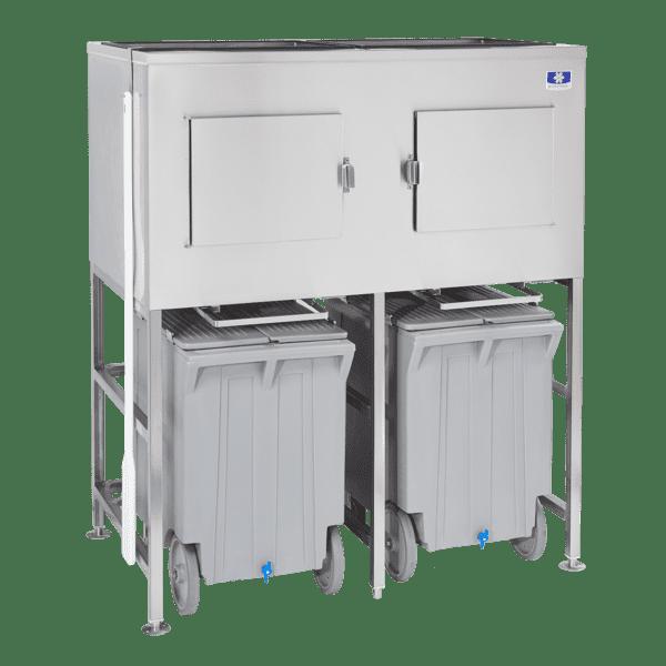 Manitowoc LBCS1360 Large Bin Cart System,  26 cu.ft.