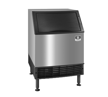 "Manitowoc UDF0240A 26"" Full-Dice Ice Maker With Bin, Cube-Style - 200-300 lbs/24 Hr Ice Production, Air-Cooled, 115 Volts"