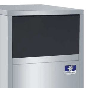 "Manitowoc Manitowoc UFF0200A 19.69"" Flake Ice Maker With Bin, Flake-Style - 200-300 lbs/24 Hr Ice Production, Air-Cooled, 115 Volts"