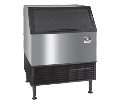"Manitowoc URF0310A 30"" Regular Ice Maker With Bin, Cube-Style - 200-300 lbs/24 Hr Ice Production, Air-Cooled, 115 Volts"