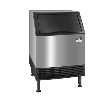 """Manitowoc UYF0190A 26"""" Half-Dice Ice Maker With Bin, Cube-Style - 100-200 lbs/24 Hr Ice Production, Air-Cooled, 115 Volts"""