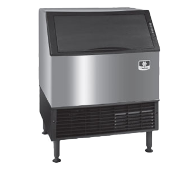 """Manitowoc UYF0310W 30"""" Half-Dice Ice Maker With Bin, Cube-Style - 200-300 lbs/24 Hr Ice Production, Water-Cooled, 115 Volts"""