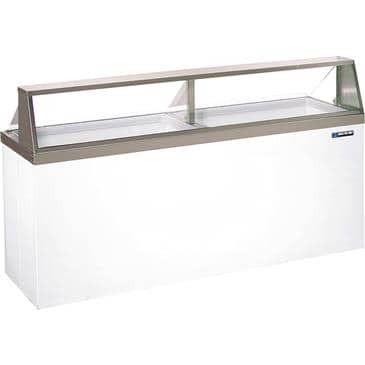 Master-Bilt Products DD-88CG Ice Cream Dipping/Display Cabinet