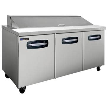 """Master-Bilt Products MBSP72-18A-007 Fusion"""" Refrigerated Sandwich Top"""