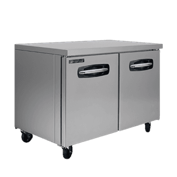 "Master-Bilt Products MBUF48A-014 Fusion Undercounter Freezer with 4"" casters in"