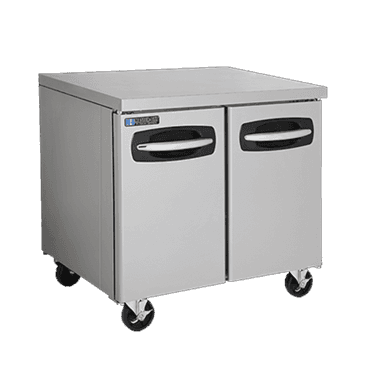 "Master-Bilt Products MBUR36A-014 Fusion Undercounter Refrigerator with 4"" casters"