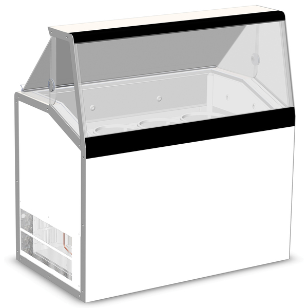 Master-Bilt Products DD-46L Ice Cream Dipping/Display Cabinet
