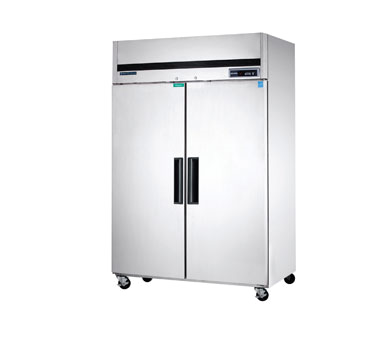 Maxx Cold MCRT-49FDHC 54.00'' Top Mounted Section Door Reach-In Refrigerator