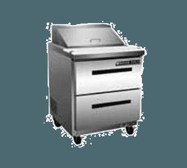 "Maxx Cold MXCR29S-D X-Series 29"" Sandwich & Salad Station"