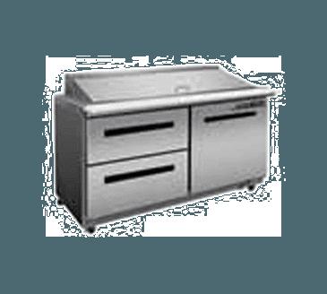 "Maxx Cold MXCR48S-DL X-Series 48"" Sandwich & Salad Station"