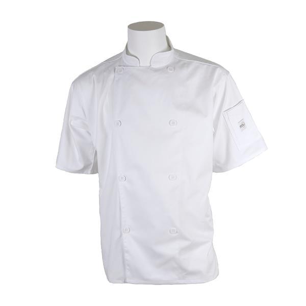 Mercer Culinary M61012WHXS Genesis Unisex Chef Jacket