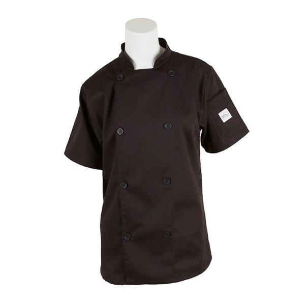 Mercer Culinary M61032BK2X Genesis Women's Chef Jacket