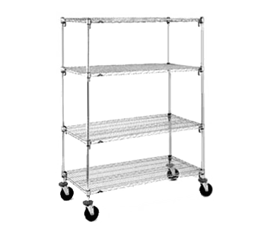 Metro A456BC Super Adjustable Super Erecta® Stem Caster Cart