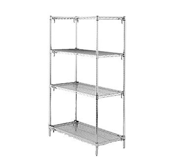 Metro A566C Super Adjustable Super Erecta® Starter Shelving