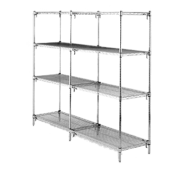Metro AA416C Super Adjustable Super Erecta® Add-On Shelving