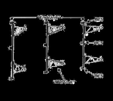 Metro BCSK3 Super Erecta® Intermediate Bracket