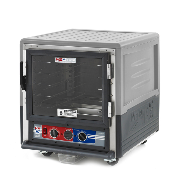 Metro C533-MFC-U-GYA C5™ 3 Series Moisture Heated Holding & Proofing Cabinet  with Gray Insulation Armour™