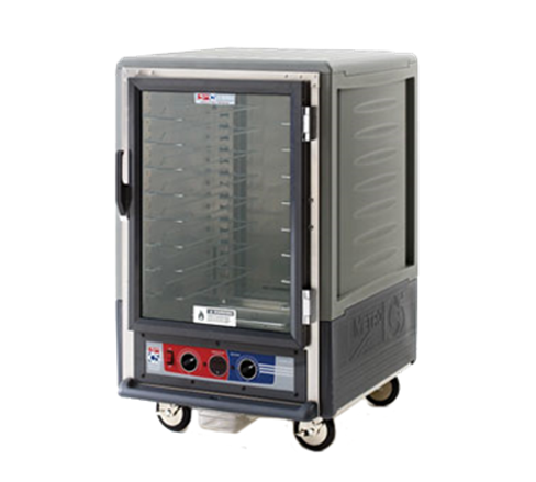Metro C535-CLFC-4-GY C5™ 3 Series Heated Holding & Proofing Cabinet