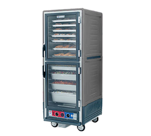Metro C539-HLDC-4-GY C5™ 3 Series Heated Holding Cabinet
