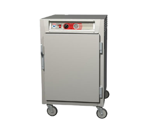 Metro C565-NFS-LPFSA C5™ 6 Series Solid Door Aluminum Mobile Pass-Thru Heated Holding Cabinet, 120 Volts