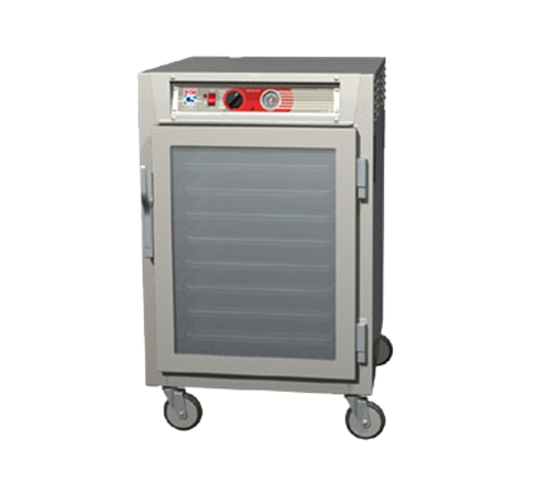Metro C565L-NFC-U C5™ 6 Series Half Height Clear Door Mobile Heated Holding Cabinet, 120 Volts