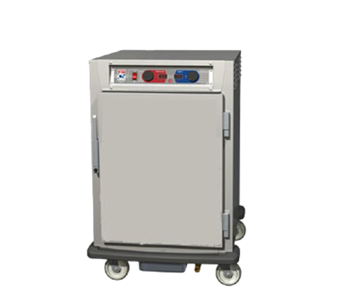 Metro C595-NFS-UPFS C5™ 9 Series Half Height Solid Door Insulated Mobile Pass-Thru Proofing and Holding Cabinet, 120 Volts