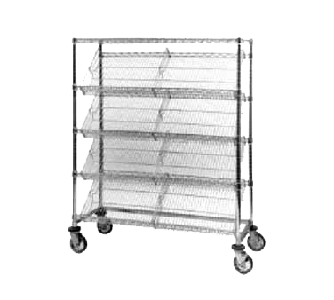 Metro DC36EC Slanted-Shelf Merchandiser/Dispenser Rack (5)