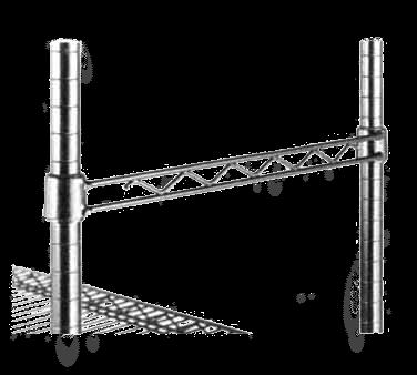 Metro H136C Super Erecta® Hanger Rail