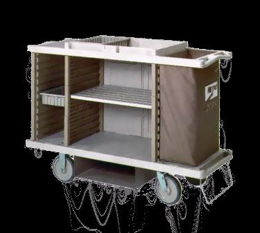 Metro LXHK3-PLUS Lodgix™ Plus Housekeeping Cart