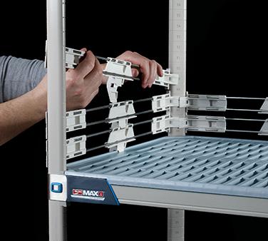 Metro MXL24-2S MetroMax iQ™ Stackable Shelf Ledge