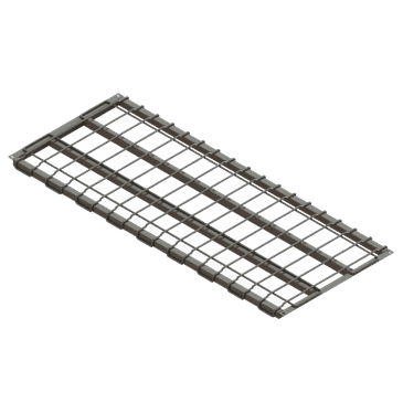 """Metro SMD1860 SmartLever™ 18"""" x 60"""" Dunnage Shelf Assembly"""