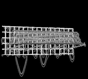 Metro TDR48K3 SmartWall G3 Tray Drying Rack