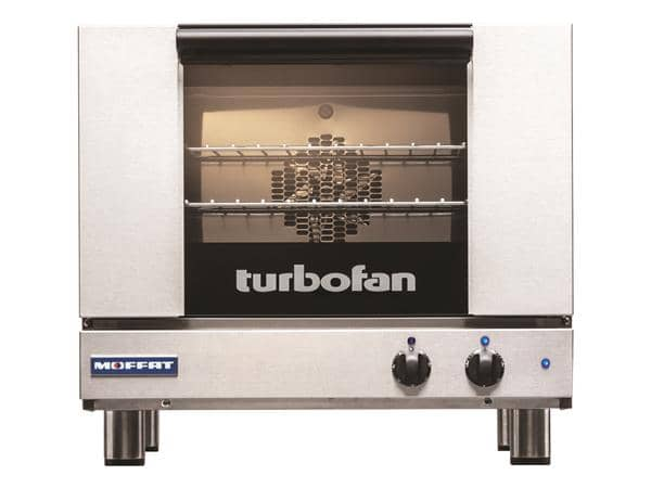 Moffat E22M3 Single Deck Electric Convection Oven with Touchscreen Contols, 110-120 Volts