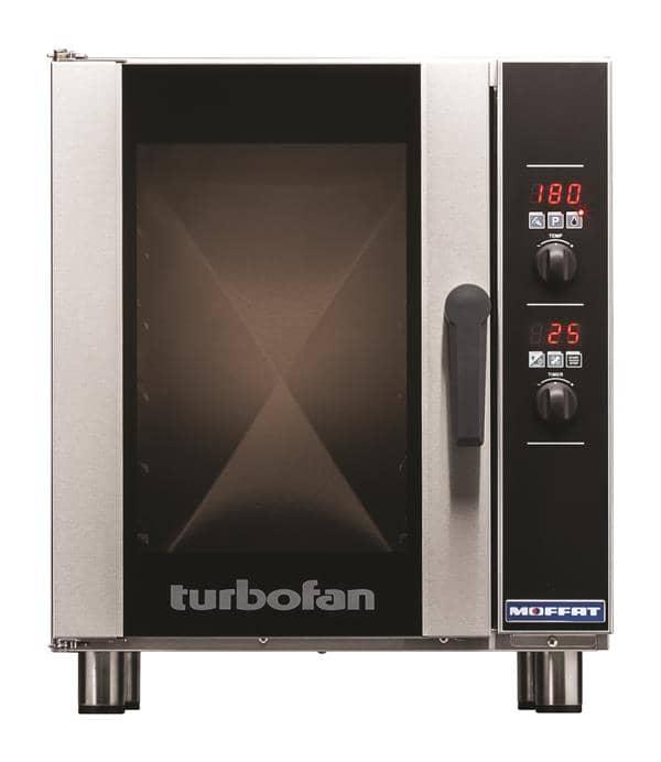 Moffat E33D5 Single Deck Electric Convection Oven with Digital Contols, 208 Volts