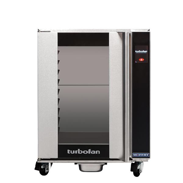 Moffat Moffat H10T-FS Turbofan® Undercounter Glass Door Mobile Heated Holding Cabinet, 208-240 Volts